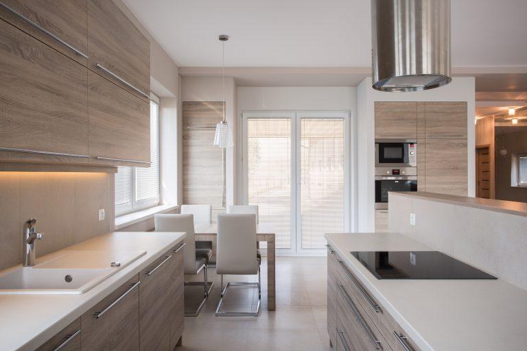 Luxury kitchen in modern design